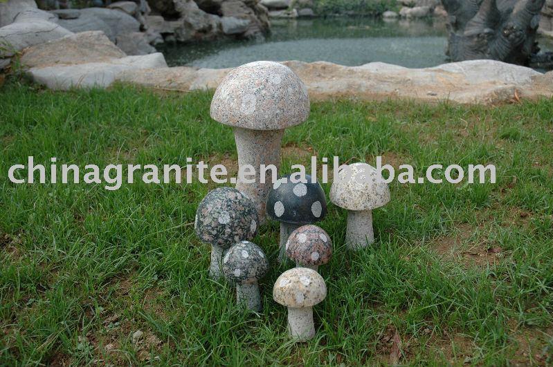 exemple déco jardin champignon