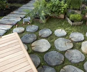 déco jardin en pierre reconstituée