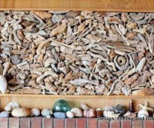 déco murale bois flotté