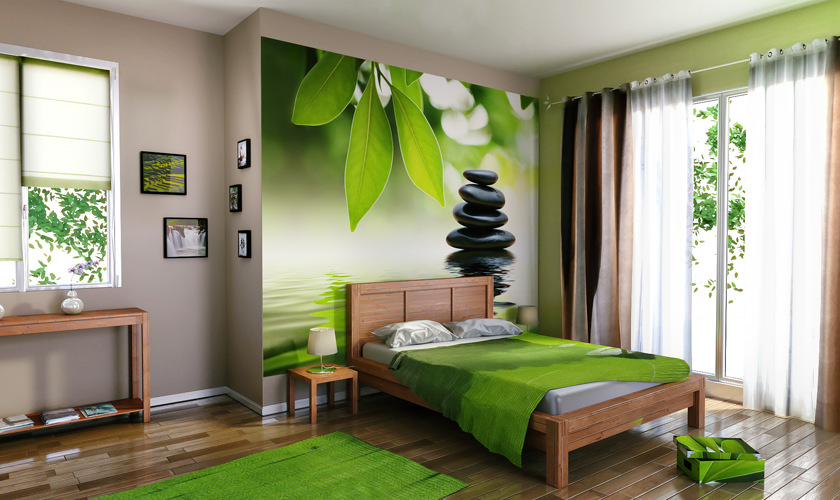 D co murale chambre adulte for Papier peint chambre parentale