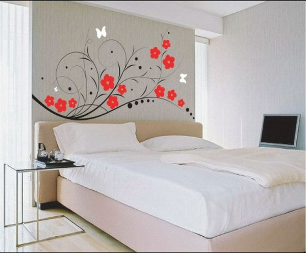 D co murale chambre adulte for Decoration chambre mansardee adulte