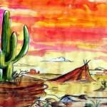 déco murale western
