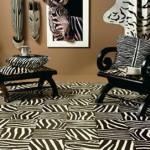 déco murale zebre