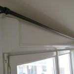 décoration barre rideau