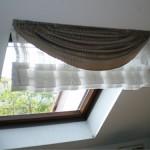 décoration idee rideau velux
