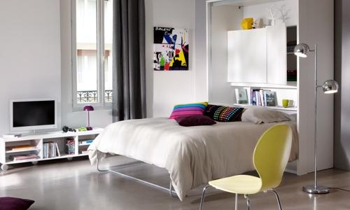 décoration idee studio 35m2 - Photo Déco