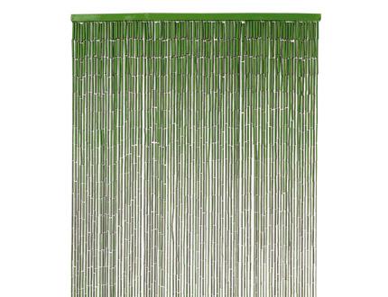 décoration rideau bambou