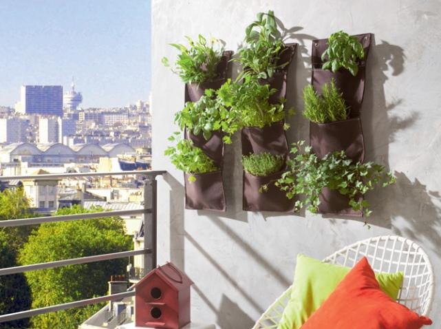 déco mur balcon