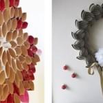 déco murale fleur plastique