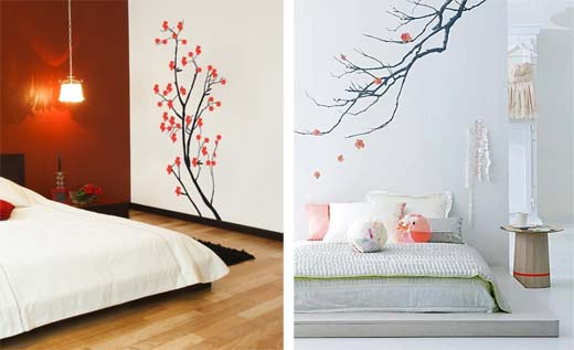 d co murale japonaise. Black Bedroom Furniture Sets. Home Design Ideas
