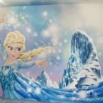 déco murale reine des neiges