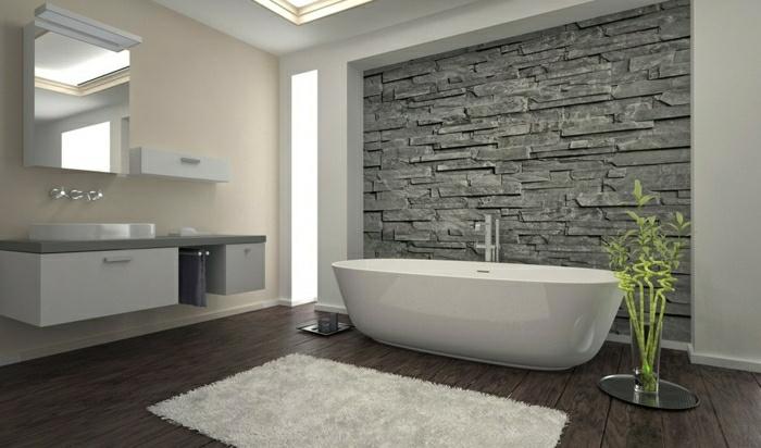 Idée Déco Murale Salle De Bain - Deco mur salle de bain