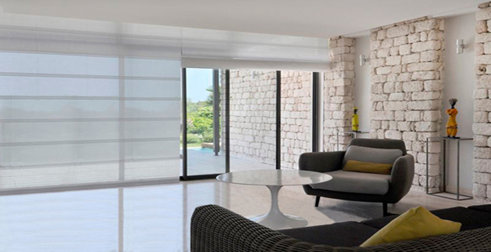 D co rideaux baie vitr e - Rideaux pour baies vitrees coulissantes ...