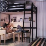décoration idée studio mezzanine
