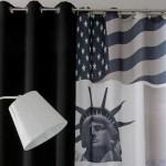 décoration rideaux amerique
