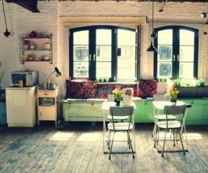 décoration studio vintage