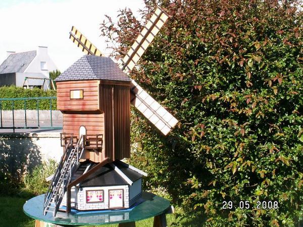 D co jardin a fabriquer - Fabriquer moulin a vent de jardin ...