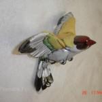 déco murale oiseaux