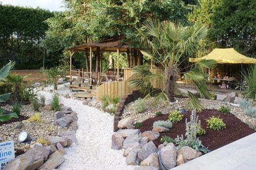 idée décoration jardin rocaille