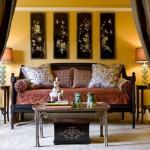 décoration rideaux asiatique