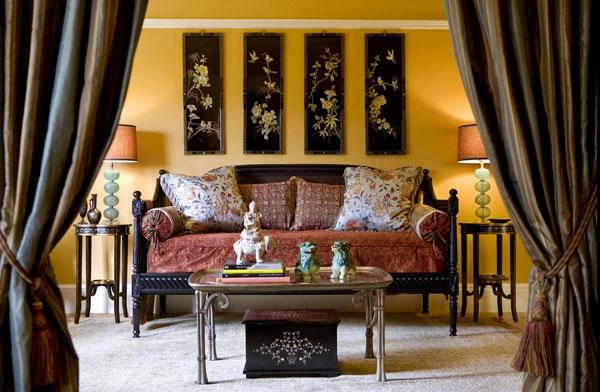 D coration rideaux asiatique - Decoration asiatique ...