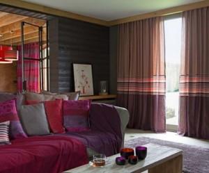 décoration rideaux maison chic