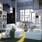 décoration studio ikea