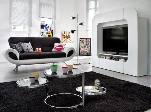 Décoration Studio Noir Et Blanc