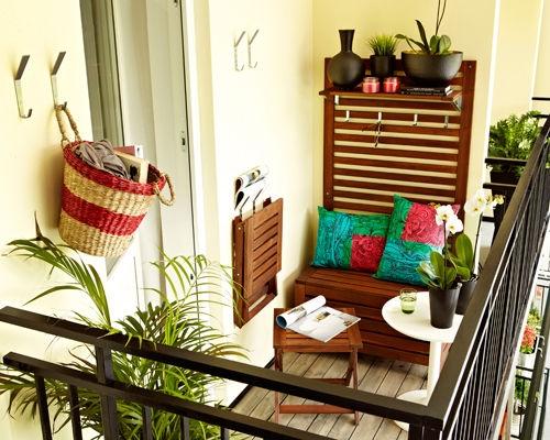 idee déco balcon long