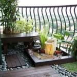 idee déco balcon zen