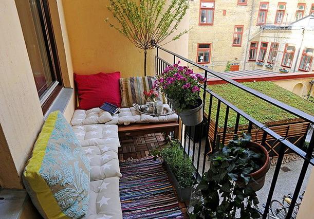 déco balcon cosy