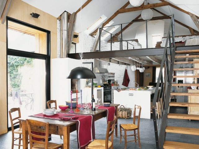 Maison Moderne Avecmezzanine - onestopcolorado.com -