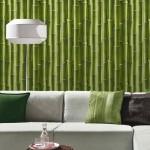 déco murale bambou