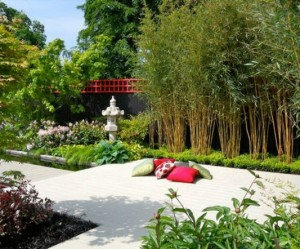 décoration jardin chinois