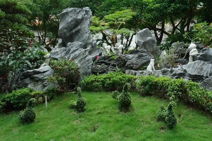 univers décoration jardin chinois