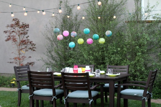 Awesome Decoration Jardin Fetes Photos - Design Trends 2017 ...