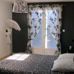 décoration rideau blanc