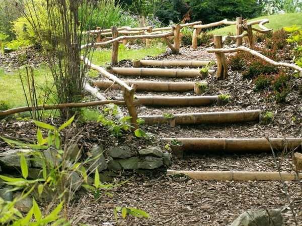 déco jardin avec bambou - Photo Déco