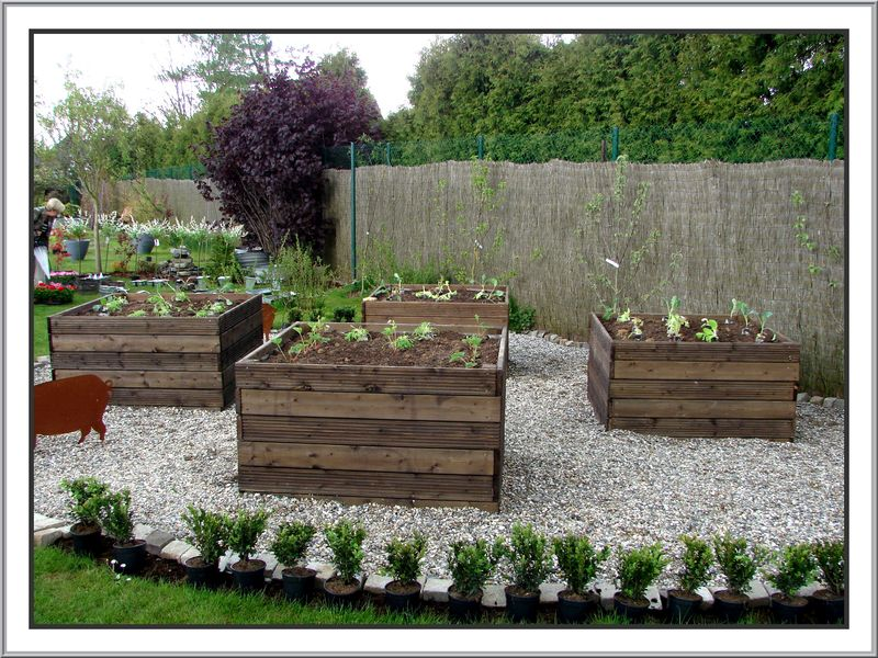 D coration idee jardin potager for Idee de decoration de jardin