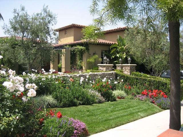 idée décoration jardin mediterraneen - Photo Déco