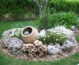 décoration jardin vintage