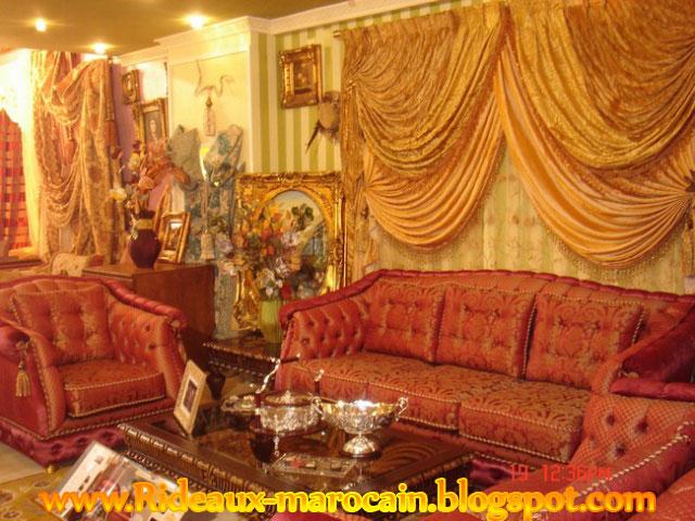 décoration rideau marocain