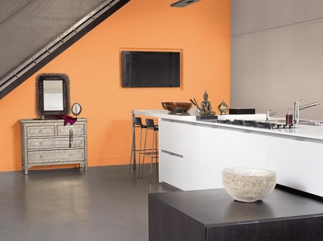 décoration studio marron
