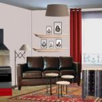 décoration studio masculin