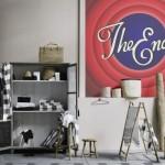 décoration studio retro