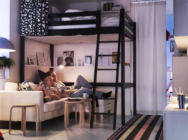 déco idee lit mezzanine - Photo Déco