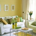 déco murale jaune