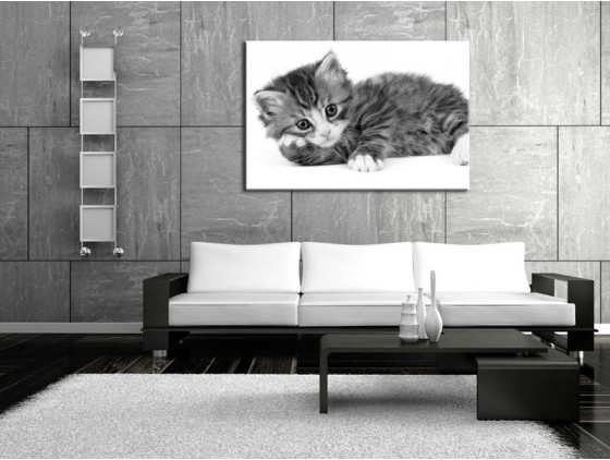 déco murale noir et blanc