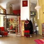 décoration idée salon mezzanine