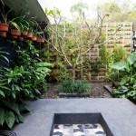 décoration jardin a suspendre